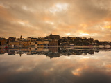 View over the River at Sunset, Djurgarden, Stockholm, Sweden, Scandinavia, Europe Photographic Print by Ian Egner