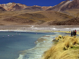 Laguna Canapa, South Lipez, Southwest Highlands, Bolivia, South America Photographic Print by Simon Montgomery