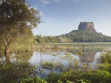Sigiriya, UNESCO World Heritage Site, North Central Province, Sri Lanka, Asia Photographic Print by Ian Trower