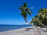 Beach on Savo Island, Savo, Solomon Islands, Pacific Photographic Print by Michael Runkel