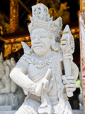 Hindu Stone Statue at Pura Tirta Empul Temple, a Hindu Temple on Bali, Indonesia, Southeast Asia Photographic Print by Matthew Williams-Ellis
