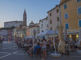 Piran, Istria, Adriatic Coast, Slovenia, Europe Photographic Print by Angelo Cavalli