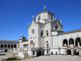 Monumental Cemetery by Architect Carlo Maciachini, Milan, Lombardy, Italy, Europe Photographic Print by Vincenzo Lombardo