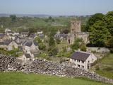Hartington Village and Church, Peak District, Derbyshire, England, United Kingdom, Europe Fotodruck von Frank Fell