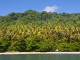 Beach on Savo Island, Solomon Islands, Pacific Photographic Print by Michael Runkel