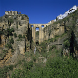 Old Town and Puente Nuevo, Ronda, Andalucia, Spain, Europe Photographic Print by Stuart Black