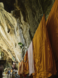 Monks' Robes, Tiger Cave Temple (Wat Tham Suea), Krabi Province, Thailand, Southeast Asia, Asia Photographic Print by Jochen Schlenker