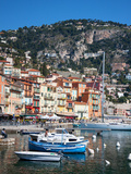 Colourful Buildings, Villefranche, Alpes-Maritimes, Provence-Alpes-Cote D'Azur, French Riviera Photographic Print by Adina Tovy