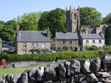 Hartington Village and Church, Peak District, Derbyshire, England, United Kingdom, Europe Photographic Print by Frank Fell