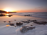 Dawn on Kennack Sands on the Lizard Peninsula in Cornwall, England, United Kingdom, Europe Photographic Print by Julian Elliott