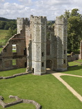 The Inner Gatehouse to the 16th Century Tudor Cowdray Castle at Midhurst, West Sussex, England, UK Photographic Print by James Emmerson