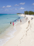 White Sands Beach, Grand Turk Island, Turks and Caicos Islands, West Indies, Caribbean Photographic Print by Richard Cummins