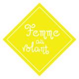 Femme au Volant - Duvar Çıkartması