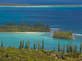 View over the Ile Des Pins, New Caledonia, Melanesia, South Pacific, Pacific Photographic Print by Michael Runkel
