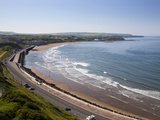 Tide Coming in at North Sands, Scarborough, North Yorkshire, Yorkshire, England, UK, Europe Photographic Print by Mark Sunderland