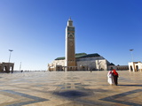 Hassan II Mosque, the Third Largest Mosque in the World, Casablanca, Morocco, North Africa, Africa Photographic Print by Gavin Hellier