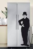 Charlie Chaplin 2 Kalkomania ścienna