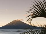 Toliman Volcano, Lago de Atitlan, Guatemala, Central America Photographic Print by Michael DeFreitas