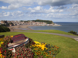 Rowing Boat and Flower Display, South Cliff Gardens, Scarborough, North Yorkshire, England Photographic Print by Mark Sunderland