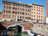 New Venice Quarter, Livorno, Tuscany, Italy, Europe Photographic Print by Adina Tovy