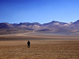 Desert in the Avaroa Andean Fauna National Reserve, Bolivia, South America Photographic Print by Simon Montgomery