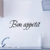 Bon appetit Muursticker