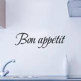 Bon appetit Wandtattoo