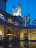 The Great Bath, Roman Baths, Bath, UNESCO World Heritage Site, Avon, England, UK, Europe Photographic Print by Rob Cousins
