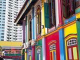 Colourful Heritage Villa, the Residence of Tan Teng Niah, Little India, Singapore, Southeast Asia Photographic Print by Gavin Hellier