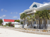 House of Assembly, Cockburn Town, Grand Turk Island, Turks and Caicos Islands, West Indies Photographic Print by Richard Cummins