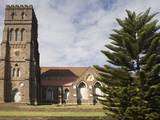 St. George's Anglican Church, Basseterre, St. Kitts and Nevis, West Indies, Caribbean Photographic Print by Rolf Richardson