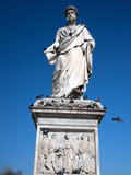 Monument to Leopold II, Grand Duke of Tuscany by Paolo Emilio Demi, Livorno, Tuscany, Italy, Europe Photographic Print by Adina Tovy