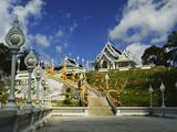 Kaewkorawaram Temple in Krabi Town, Krabi Province, Thailand, Southeast Asia, Asia Photographic Print by Jochen Schlenker