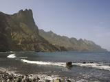 Roque de Las Bodegas, Anaga Coast, Taganana, Canary Islands, Spain, Atlantic, Europe Photographic Print by Rolf Richardson