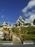 Kaewkorawaram Temple in Krabi Town, Krabi Province, Thailand, Southeast Asia, Asia Photographic Print by Jochen Schlenker