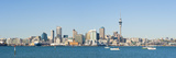 Panorama of the Auckland City Skyline, Auckland, North Island, New Zealand, Pacific Fotografisk trykk av Matthew Williams-Ellis