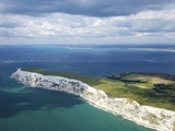 Aerial View of the Needles, Isle of Wight, England, United Kingdom, Europe Photographic Print by Peter Barritt