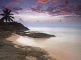 Bentota Beach at Sunset, Western Province, Sri Lanka, Asia Photographic Print by Ian Trower