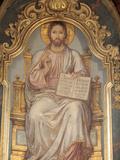 Jesus, St. Nicholas's Church, Prague, Czech Republic, Europe Photographic Print by  Godong