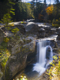 Screw Auger Falls, Grafton Notch State Park, Maine, New England, USA, North America Photographic Print by Alan Copson