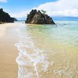 Beautiful Clear Water at Kuta Beach, Kuta Lombok, South Lombok, Indonesia, Southeast Asia, Asia Photographic Print by Matthew Williams-Ellis