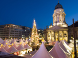 Christmas Market, Gendarmenmarkt, Berlin, Germany, Europe Photographic Print by Stuart Black