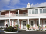 Government House in Nassau City, New Providence Island, Bahamas, West Indies, Central America Photographic Print by Richard Cummins