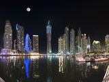 Dubai Marina, Dubai, United Arab Emirates, Middle East Photographic Print by Antonio Busiello
