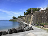 Old City Wall, UNESCO World Heritage Site, Old San Juan, San Juan, Puerto Rico, West Indies, USA Photographic Print by Wendy Connett