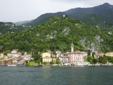 View of Varenna, Lake Como, Lombardy, Italian Lakes, Italy, Europe Photographic Print by Peter Barritt