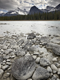Athabasca River, Jasper National Park, UNESCO World Heritage Site, Alberta, Canada, North America Photographic Print by James Hager