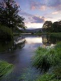 Sunset, Rydal Water, Lake District National Park, Cumbria, England, United Kingdom, Europe Photographic Print by Jeremy Lightfoot