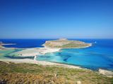 Balos Bay and Gramvousa, Chania, Crete, Greek Islands, Greece, Europe Photographie par Sakis Papadopoulos
