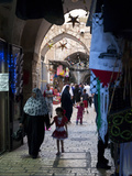 Ramadan Decorations in the Old City, Jerusalem, Israel, Middle East Photographic Print by Eitan Simanor